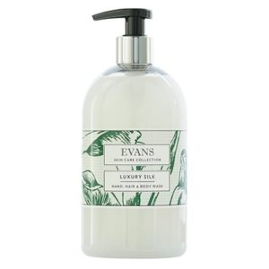 Evans Luxury Silk Hand Wash 500ml, A194FEV