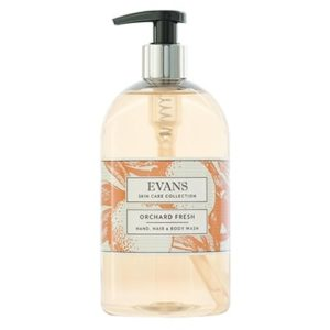 Evans Orchard Fresh Hand and Body Wash 500ml, A153FEV