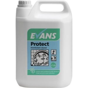 Evans Protect Disinfectant Cleaner 5ltr