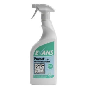 Evans Protect Disinfectant Cleaner 6 x 750ml, A147AEV