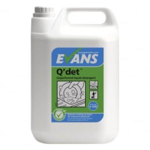 Evans Q' Det Washing Up Liquid 5ltr, A164EEV2