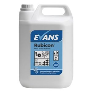 Evans Rubicon Citrus Cleaner Degreaser 5ltr