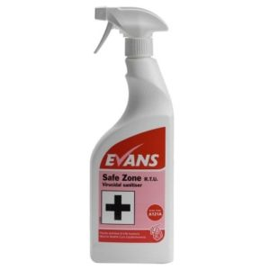 Evans Safe Zone Disinfectand Cleaner - A121AEV