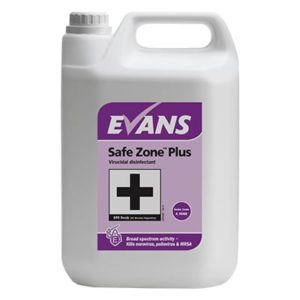 Evans Safe Zone Plus 5ltr Virucidal disinfectant, A006EEV2