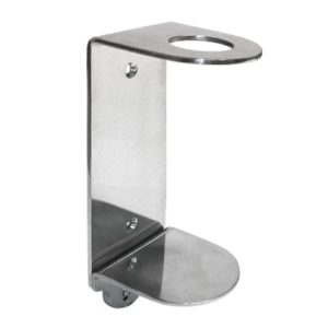 Evans Single Stainless Steel Wall Bracket 500ml