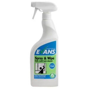 Evans Spray & Wipe Multi Task Cleaner 750ml Trigger