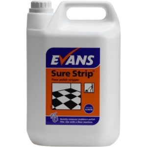 Evans Sure Strip Floor Polish Stripper 5ltr