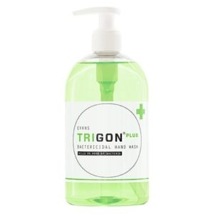 Evans Trigon Plus Bactericidal Hand Wash 6 x 500ml, A087FEV