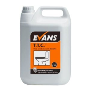 Evans T.T.C. Thick Toilet Cleaner 5ltr