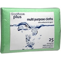Multi Purpose Cloths Green 25pk