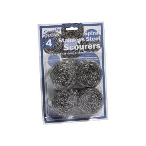 Spiral Stainless Steel Scourers