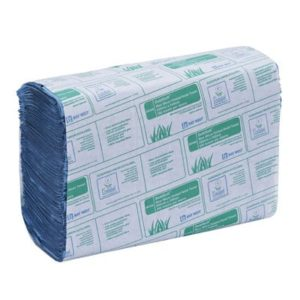 North Shore Micro Folded Hand Towels 1ply Blue