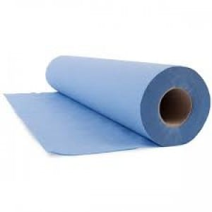 """Couch Rolls 20"""" 3ply Blue"""