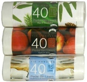 Scented Pedal Bin Liners 15ltr 6 x 40 Rolls