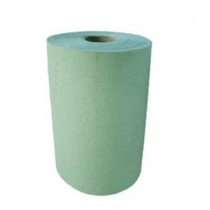 1ply Green Roll Towels 16pk