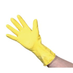 Rubber Gloves Yellow Small 10pk