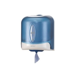 Tork Reflex Wiper Rolls Blue Dispenser