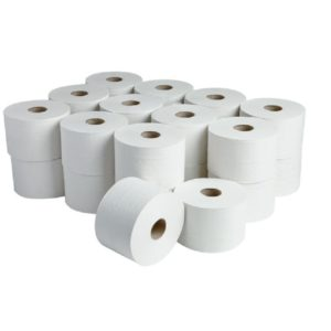 Micro Mini Jumbo Twin Toilet Rolls
