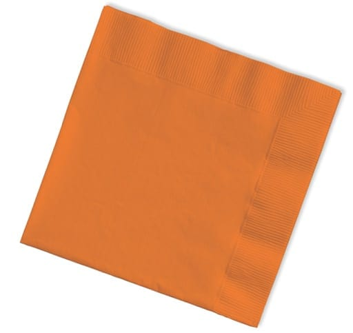 40cm 3ply Napkins Orange 1000's