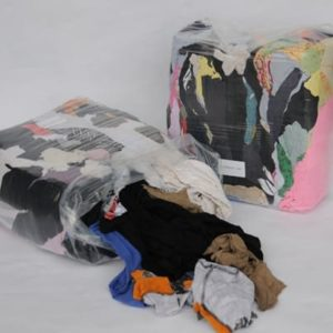 Mixed Coloured Cotton Rags 10kg