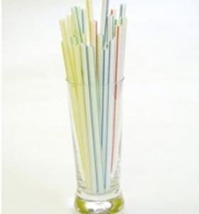 "Straws 8"" Striped Flexi 250s"
