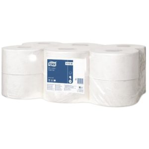 Tork Advanced T2 Mini Jumbo Toilet Rolls 170m