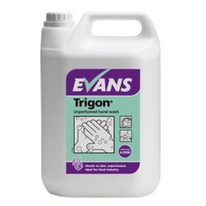 Evans Trigon Unperfumed Hand Wash 5ltr