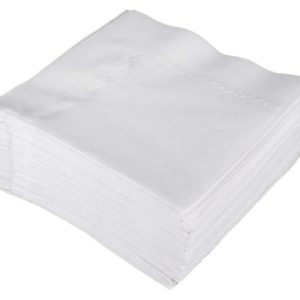 Airlaid Napkins Tablin 40cm 4 fold White 500's