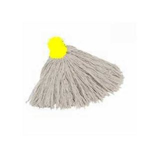 Yellow Cotton Mop Head 14py