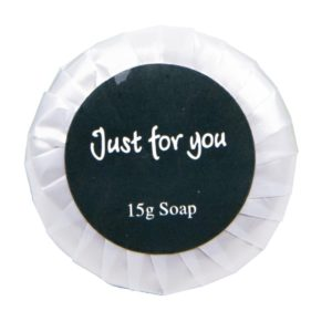 Just for You Tissue Pleat Soap - 15g (Box 100)