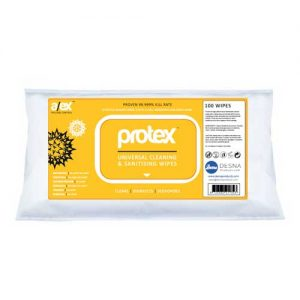 Protex Disinfection & Antibacterial Wipes 100s