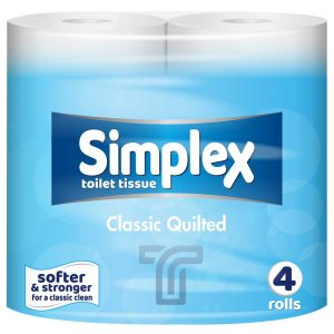 Simplex Toilet Rolls Double Quilted